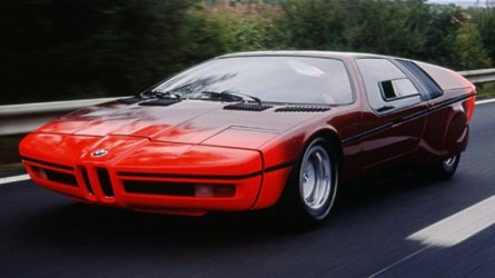 BMW Turbo Concept, la nonna della M1