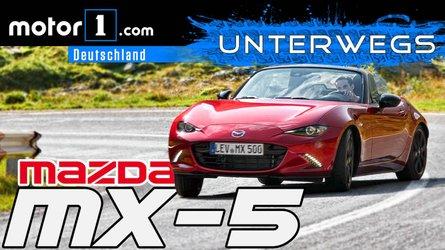 Mazda MX-5 Skyactiv-G 184   UNTERWEGS mit Daniel Hohmeyer