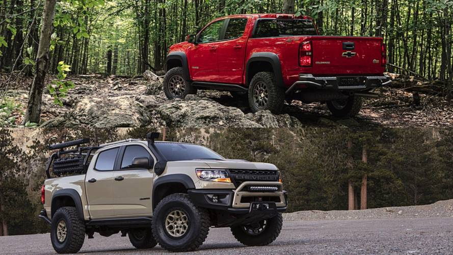 Chevrolet Colorado ZR2 Bison Facts