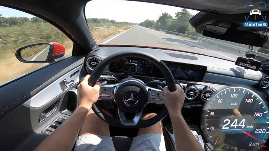 Fastest A-Class Hatchback On Sale Hits Autobahn In High-Speed Run