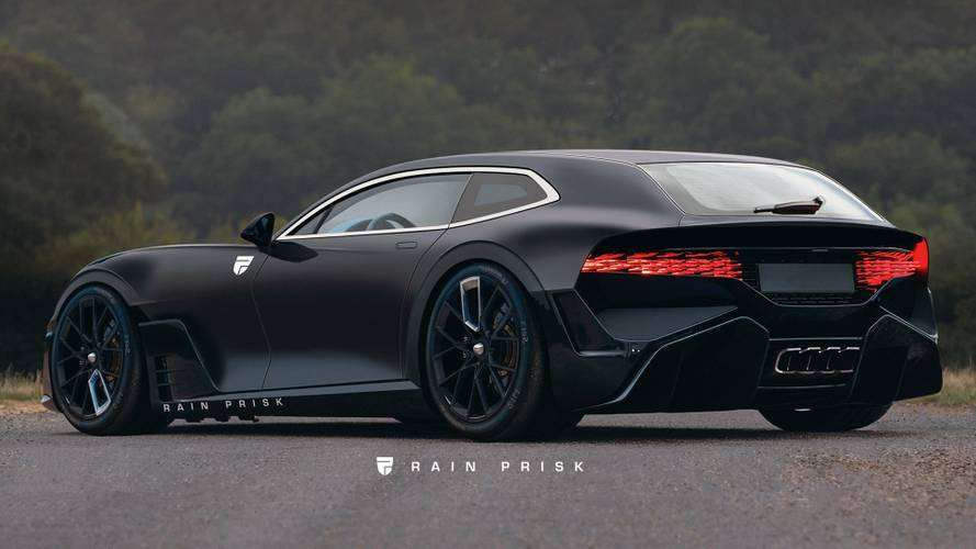 Render Bugatti Divo Shooting Brake, ¡alucinante!