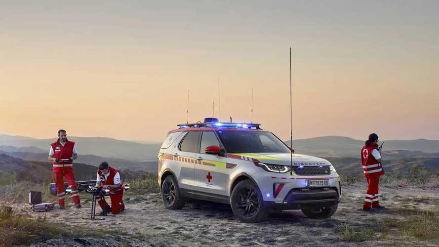 Land Rover Discovery (Rotes Kreuz Österreich)