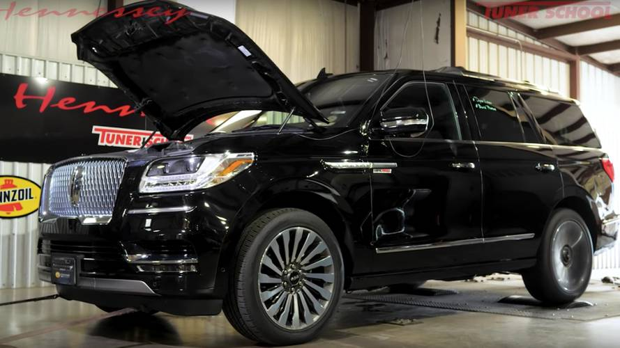 Hennessey Navigator On Dyno Sounds Like An Airplane Taking Off