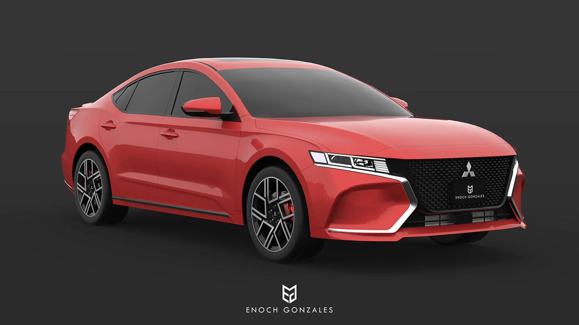 2020 Mitsubishi Galant Is Unfortunately Only A Nice Render