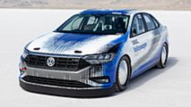 Volkswagen Jetta Bonneville récord