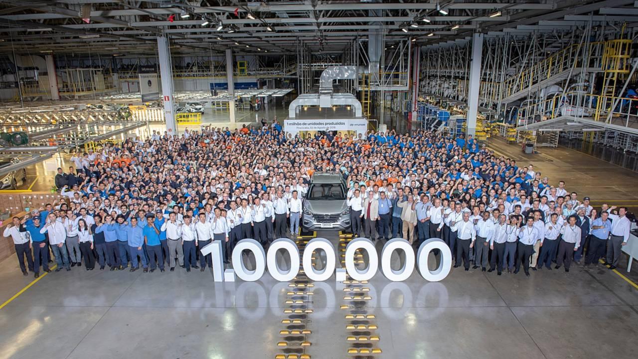 Hyundai - 1 milhão de unidades produzidas em Piracicaba