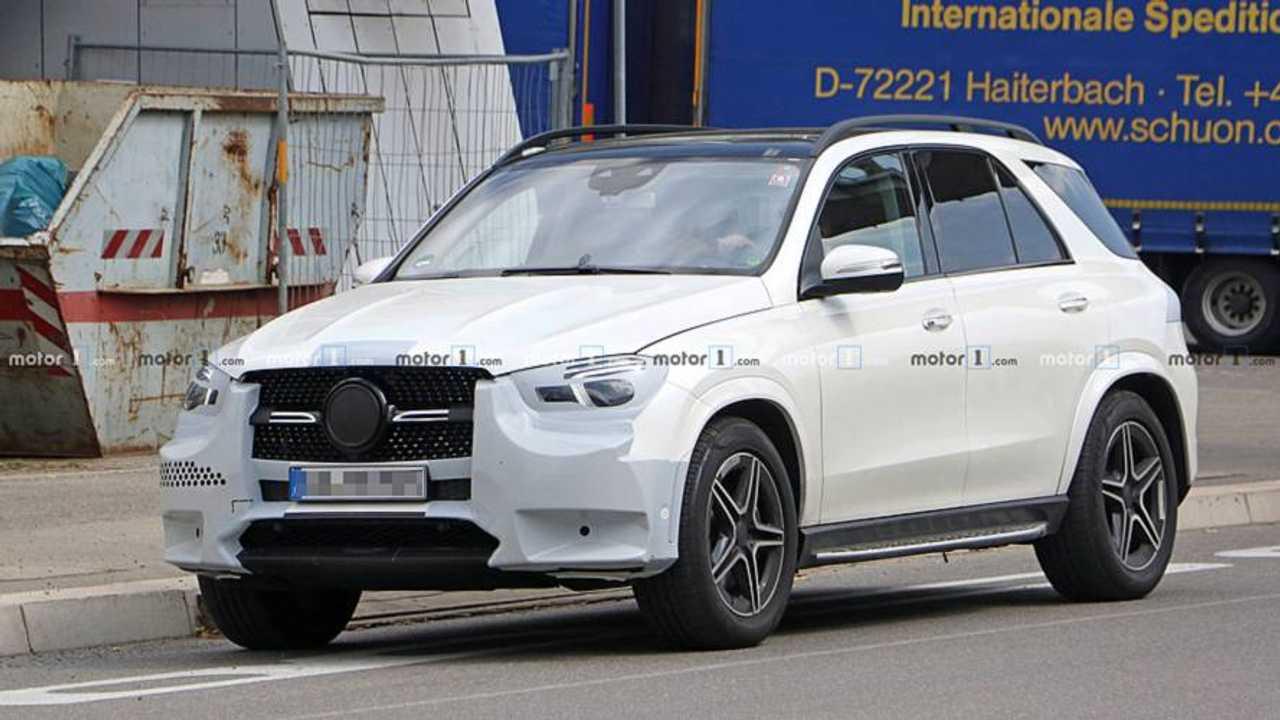 Mercedes-Benz GLE Yeni Casus Fotoğraflar