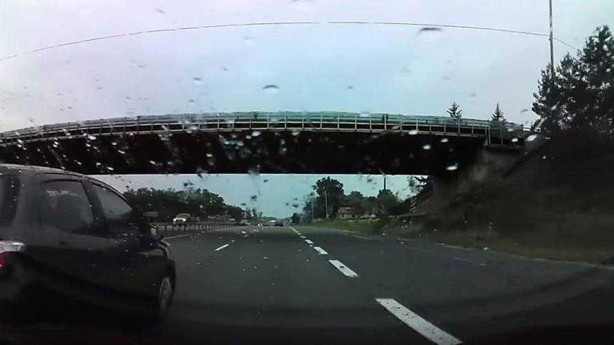 Tesla Model 3 Autopilot Saved This Car From Crashing