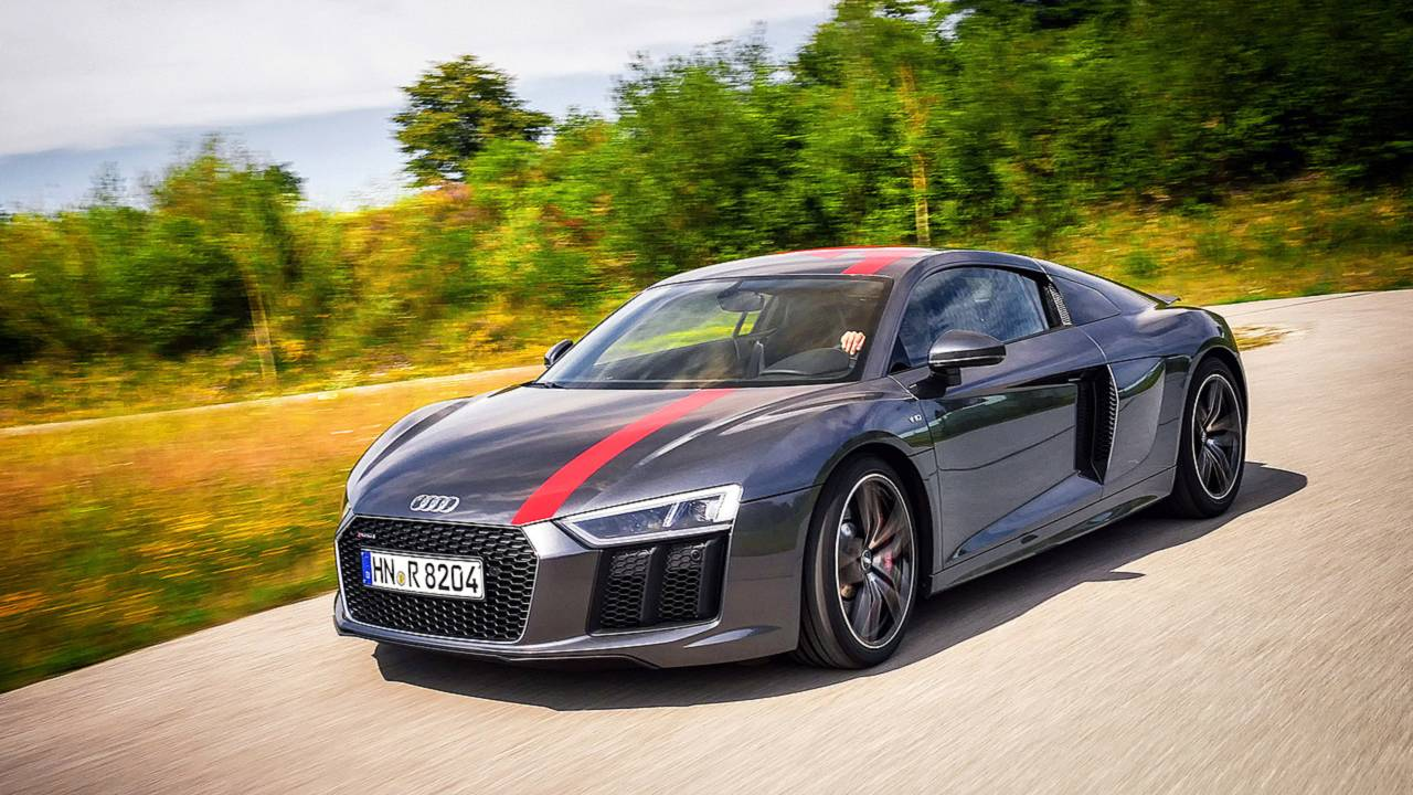 Audi R8 RWS Fototest