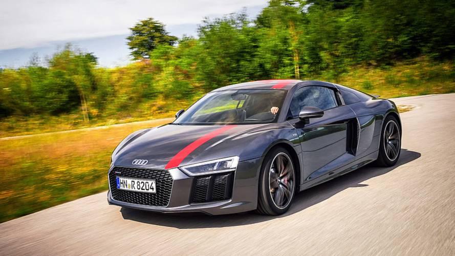 Über 300 km/h mit dem Audi R8 RWS