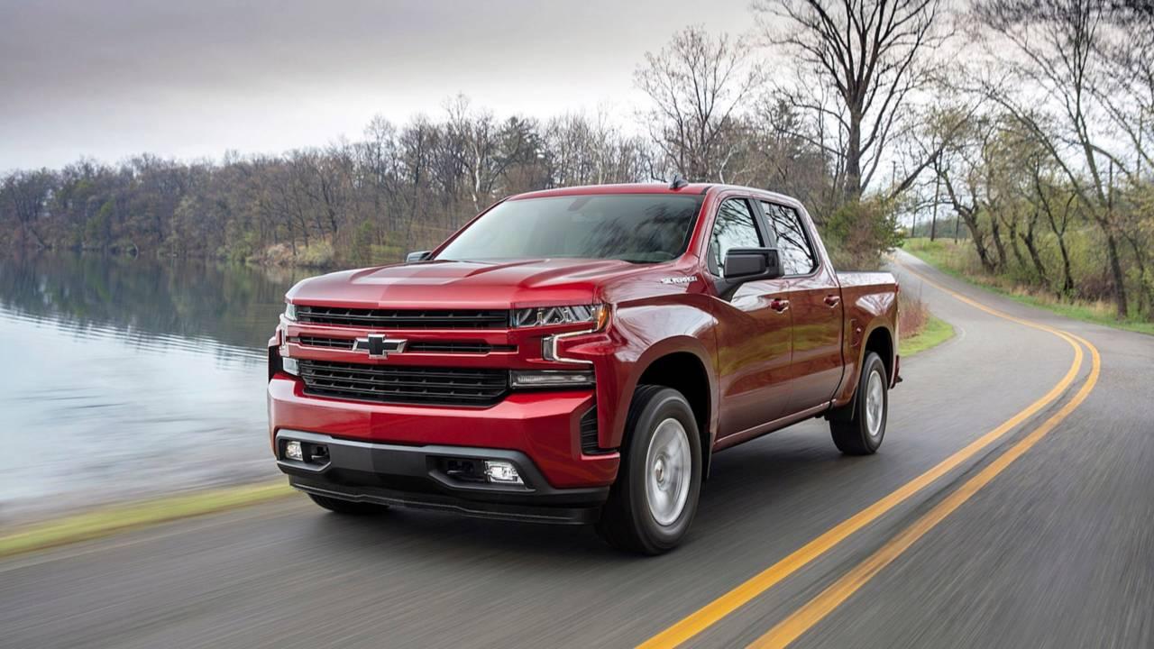 3. Chevrolet Silverado: 531,158 units