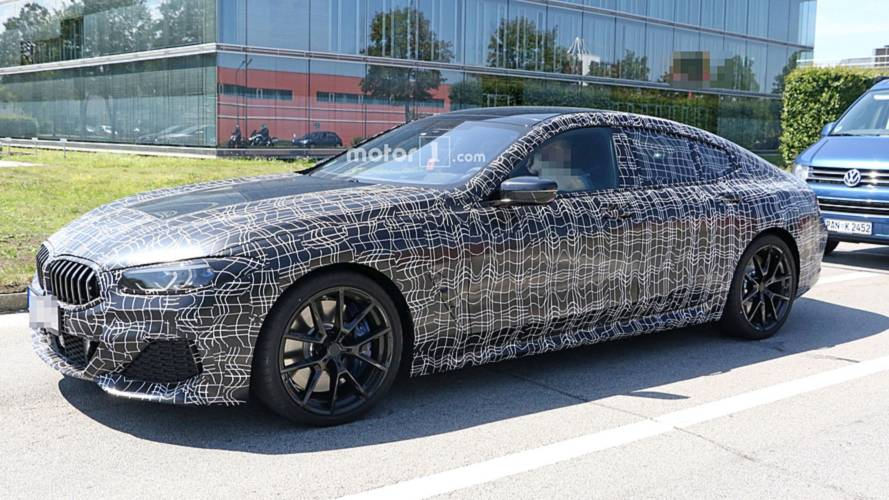 BMW 8 Series Gran Coupe Spied In Public For The First Time