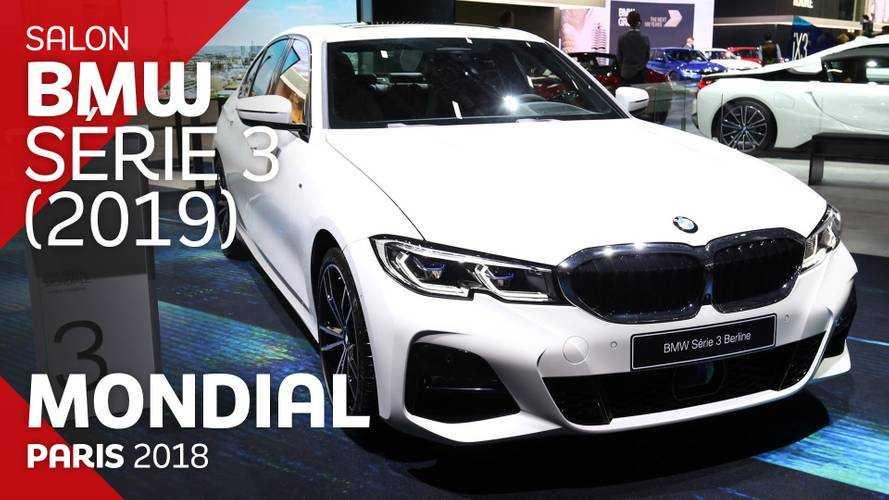 VIDÉO - La BMW Série 3 en live au Mondial 2018