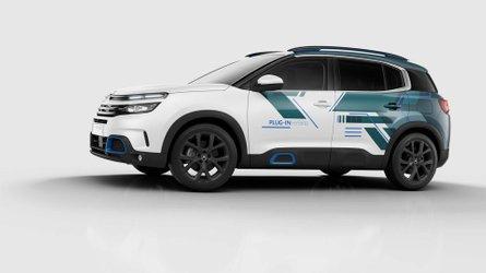 El Citroën C5 Aircross Hybrid se presentará en el salon de París