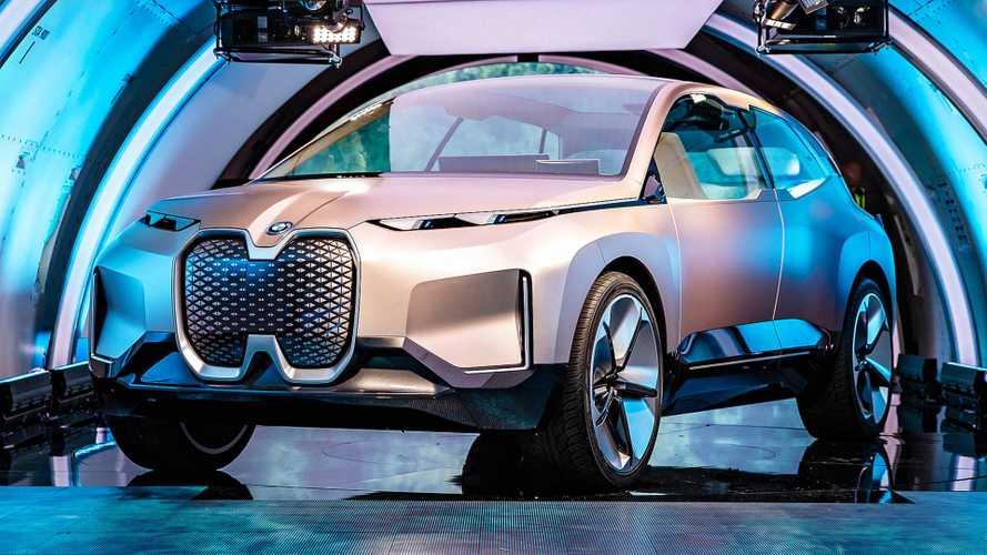 BMW Vision iNEXT, la crossover elettrica secondo l'Elica