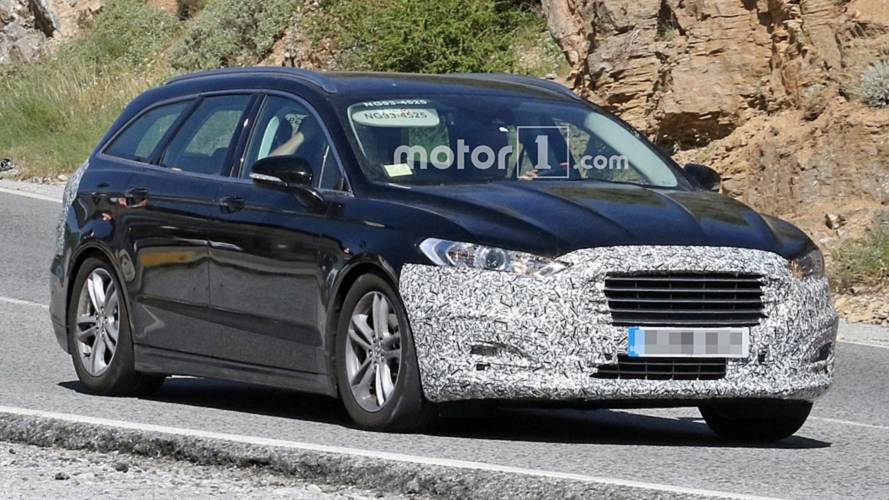 Ford Mondeo Facelift Spied Hiding Discreet Design Revisions
