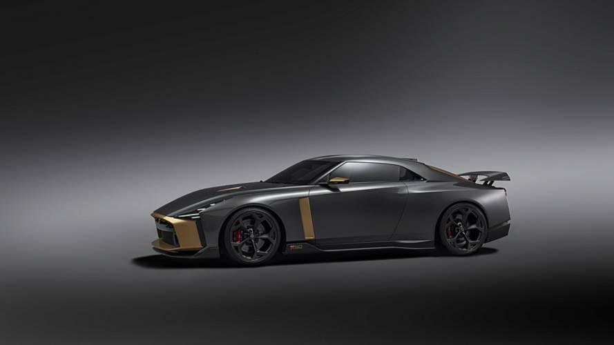 Nissan GT-R50 by Italdesign, por primera vez rodando en circuito