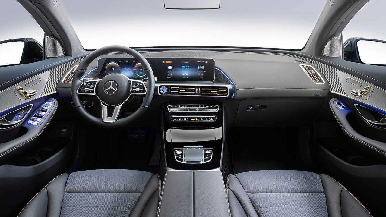 Le Mercedes EQC