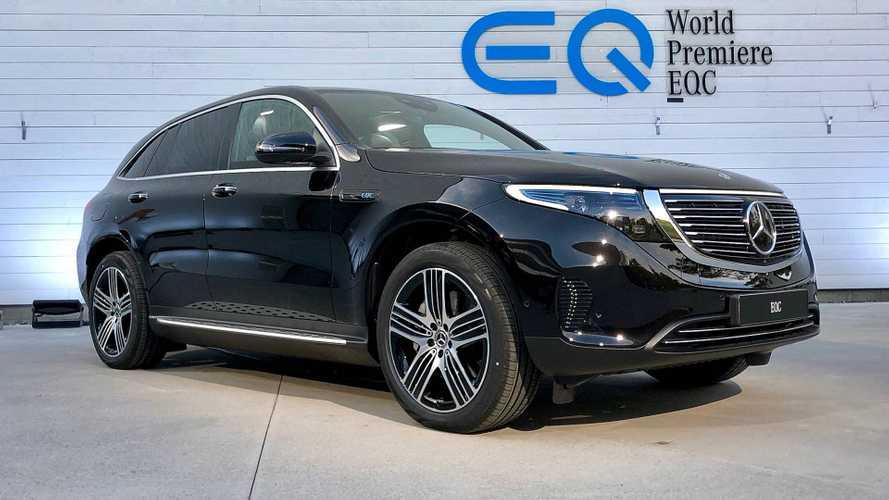EQC, il SUV elettrico che sembra una Mercedes