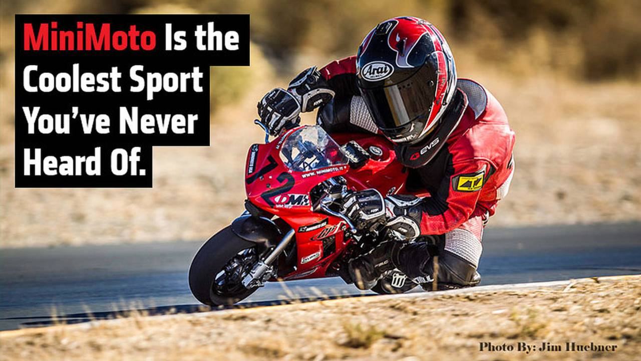 MiniMoto Is The Coolest Sport You've Never Heard Of.