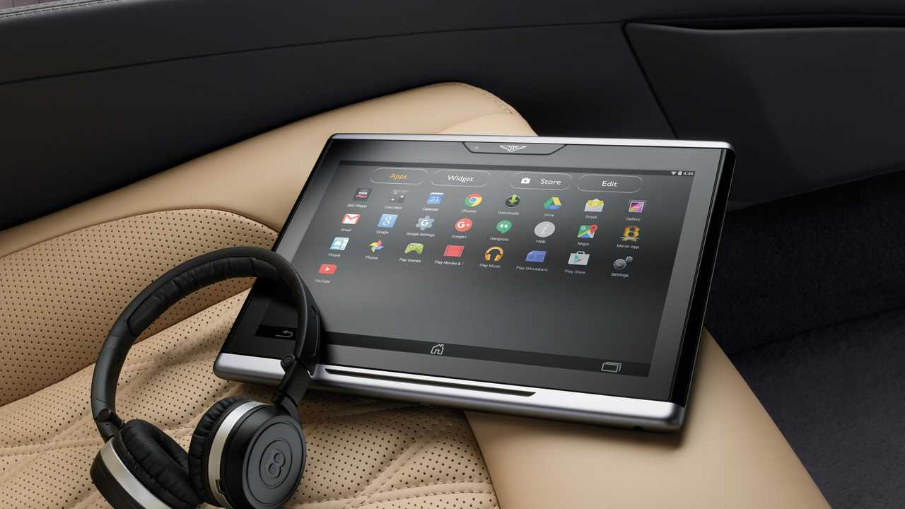 Bentley in-car WiFi