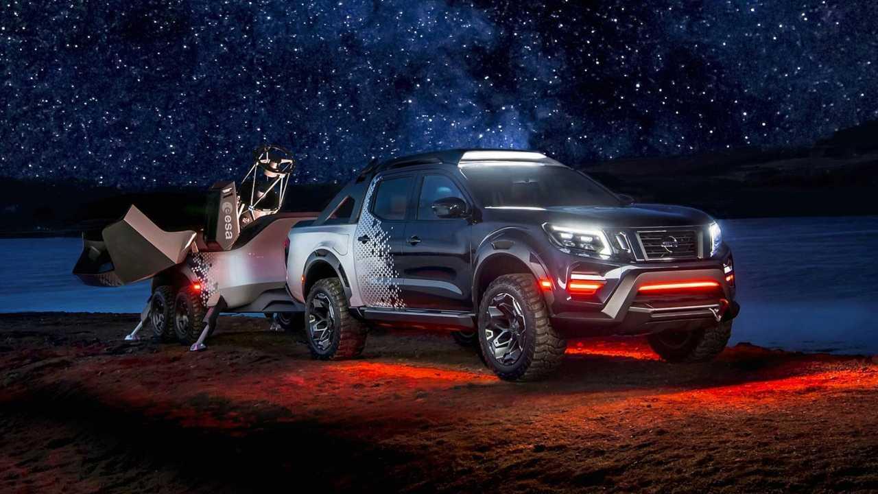Nissan Navara (Frontier) Dark Sky Concept