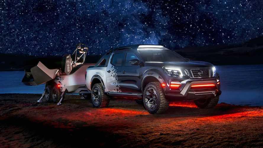 Nissan exibe a Navara Dark Sky, uma Frontier para ver estrelas