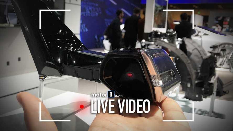 Come funzionano gli specchietti virtuali dell'Audi e-tron