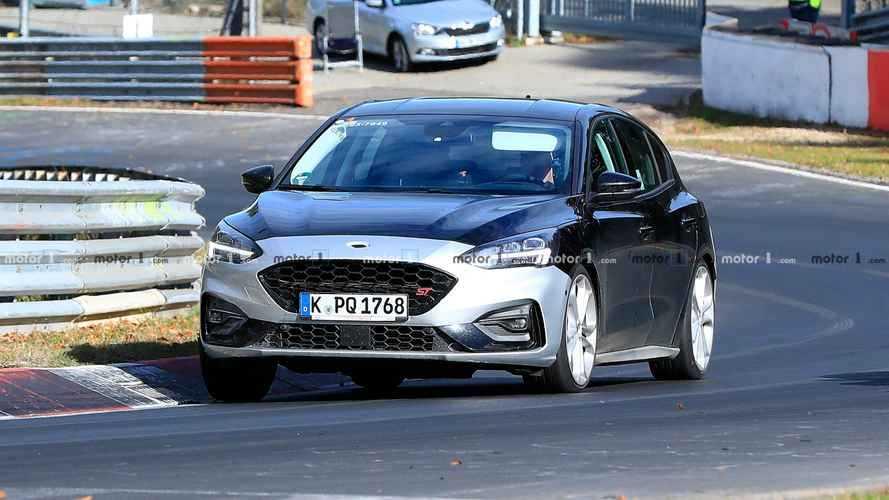 Ford Focus ST 2019: nuevas fotos espía y vídeo en Nürburgring