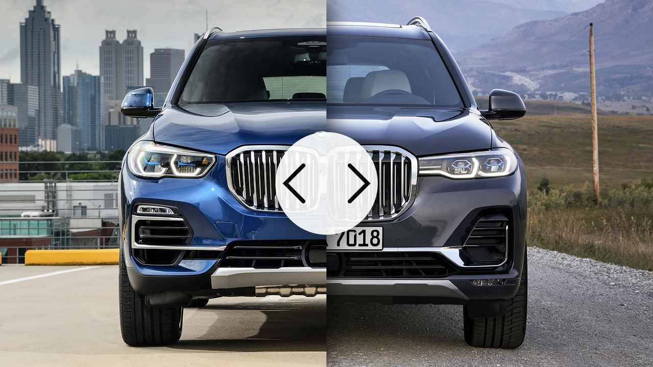 BMW X5 vs X7