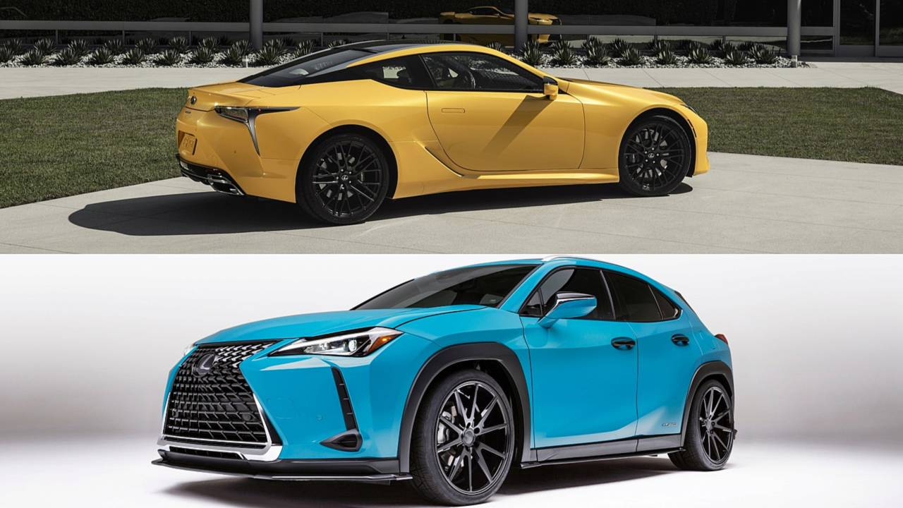 Lexus LC 500 Inspiration concept and UX 250h by Clark Ishihara of VIP Auto Salon