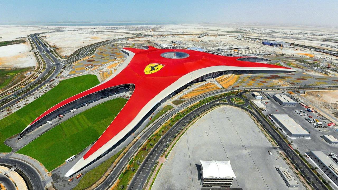 Ferrari World Abu Dhabi opening 28.10.2010