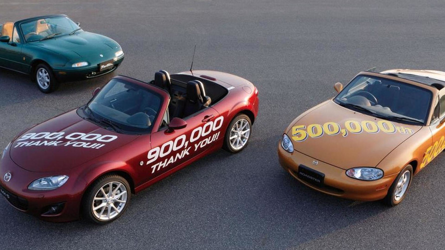 Mazda MX-5 production hits 900,000 units