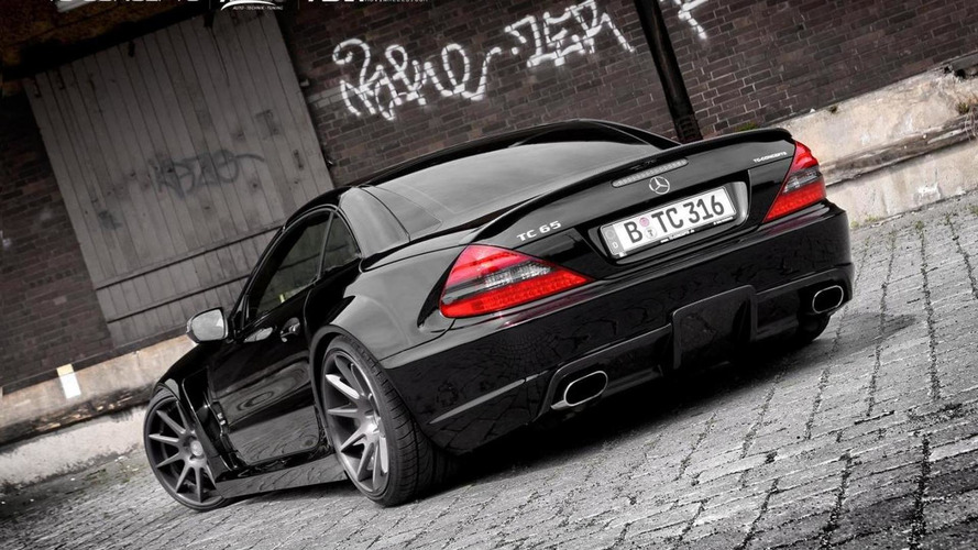 mercedes sl65 amg with black series conversion by tc