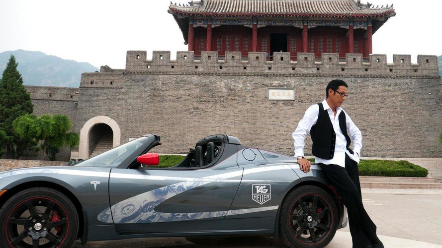 Tesla Roadster completes round the world journey