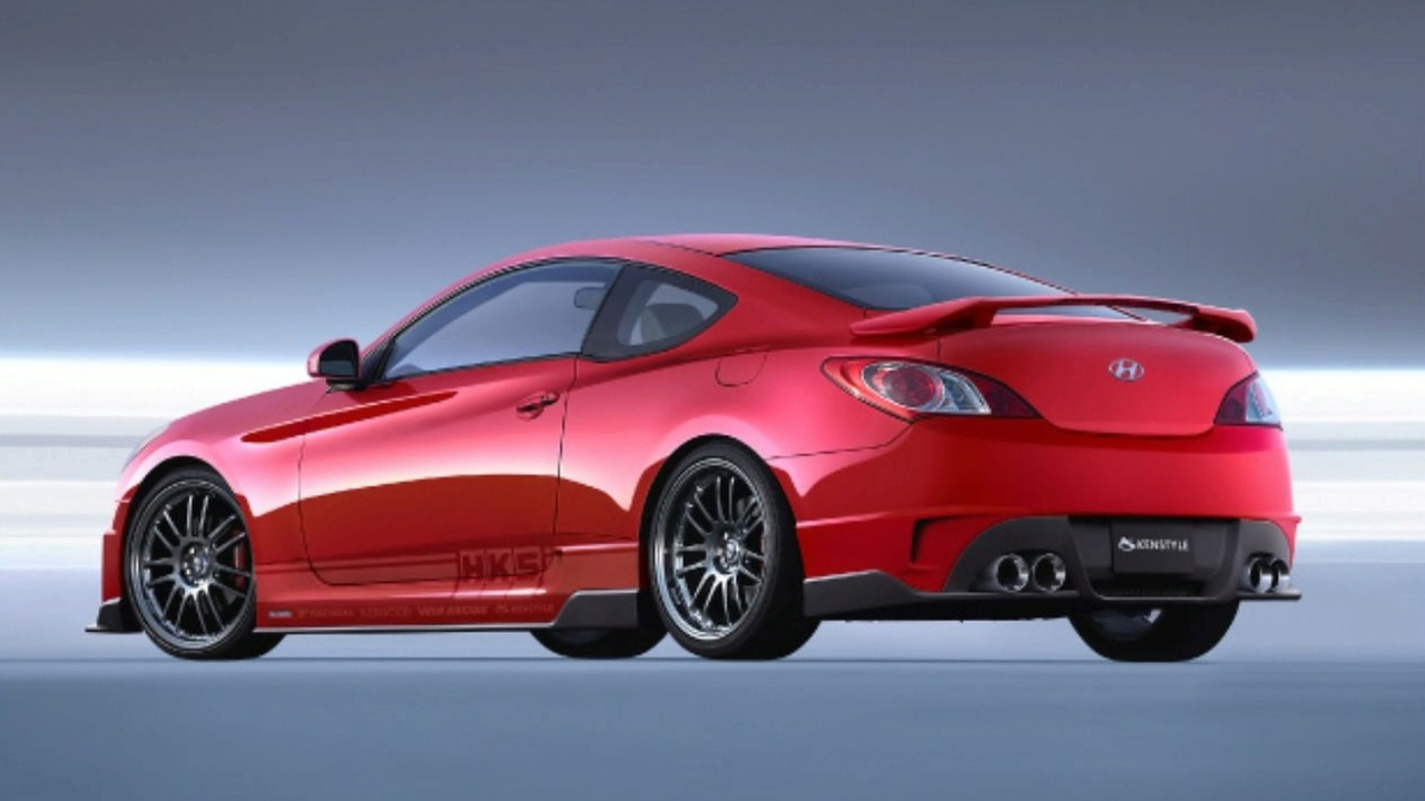 Gallery: Hyundai Reveals Three Genesis Coupe Projects At SEMA 2008
