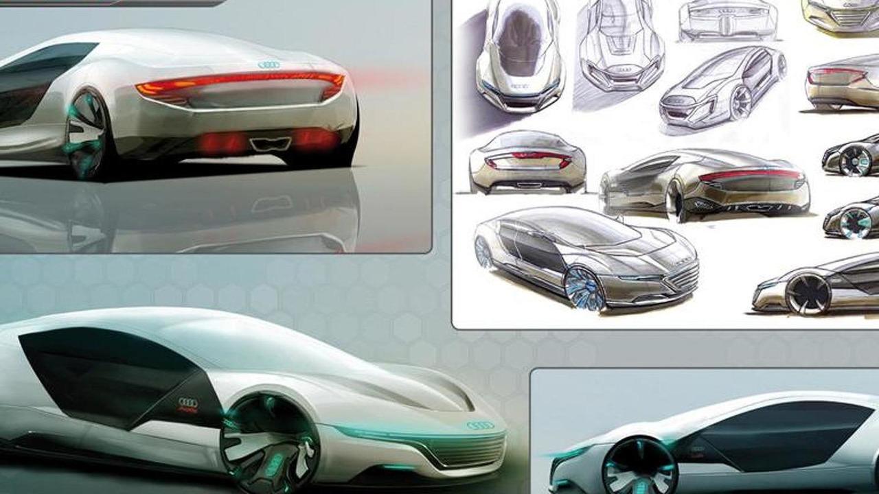 Audi A9 Concept Design Study Motor1 Com Photos