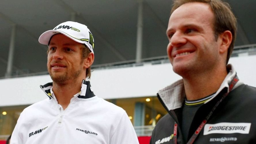Barrichello 6th, Button 10th on revised grid