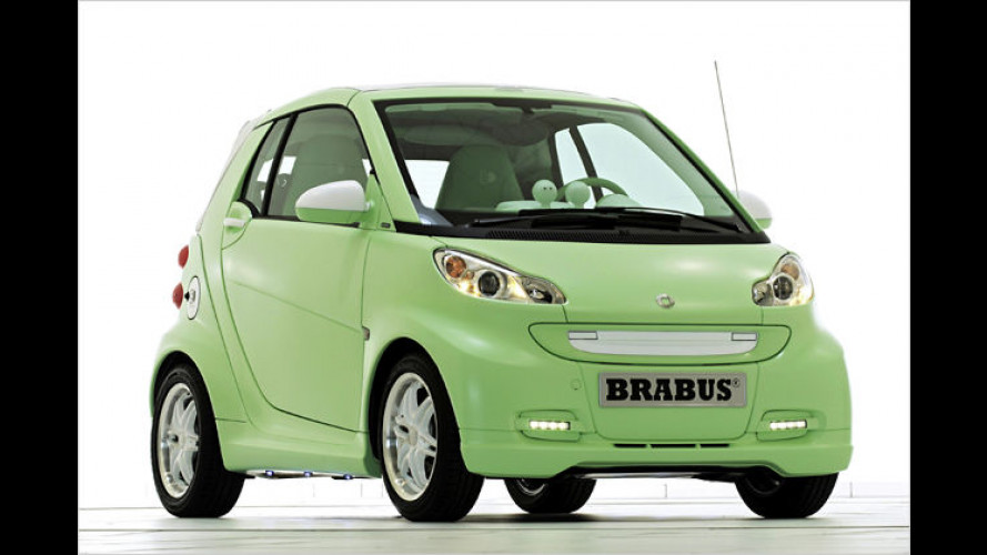 Smart Fortwo Brabus electric drive: Schicker Stromer