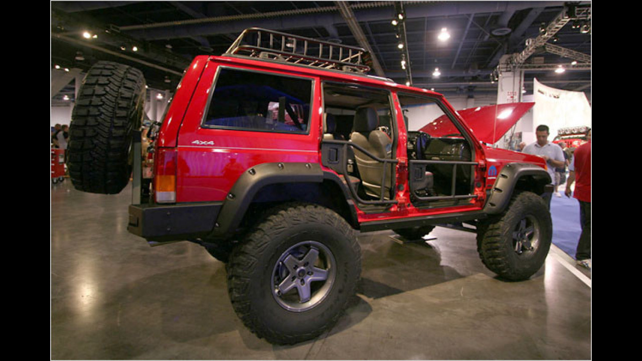 Jeep Cherokee XJ Stroker