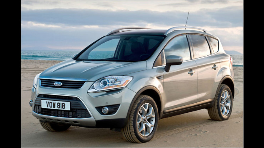 Aufgebockt: Das neue Crossover-Modell Ford Kuga