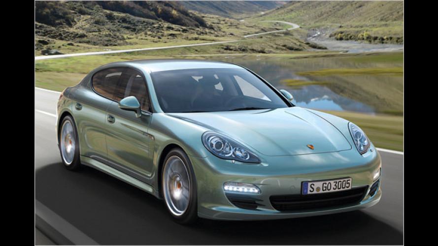 Porsche macht den Panamera zum Spritsparer