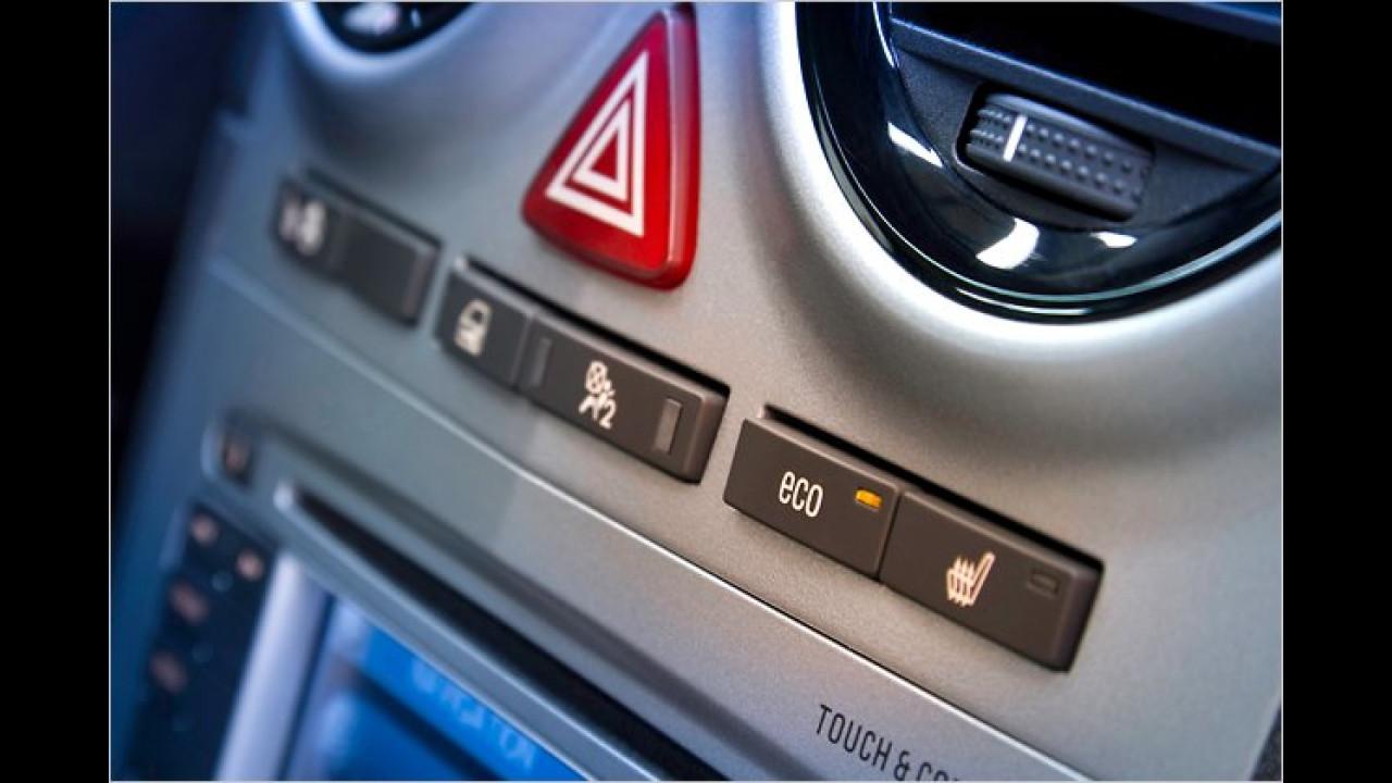 Corsa-Benziner sparsamer durch Start-Stopp