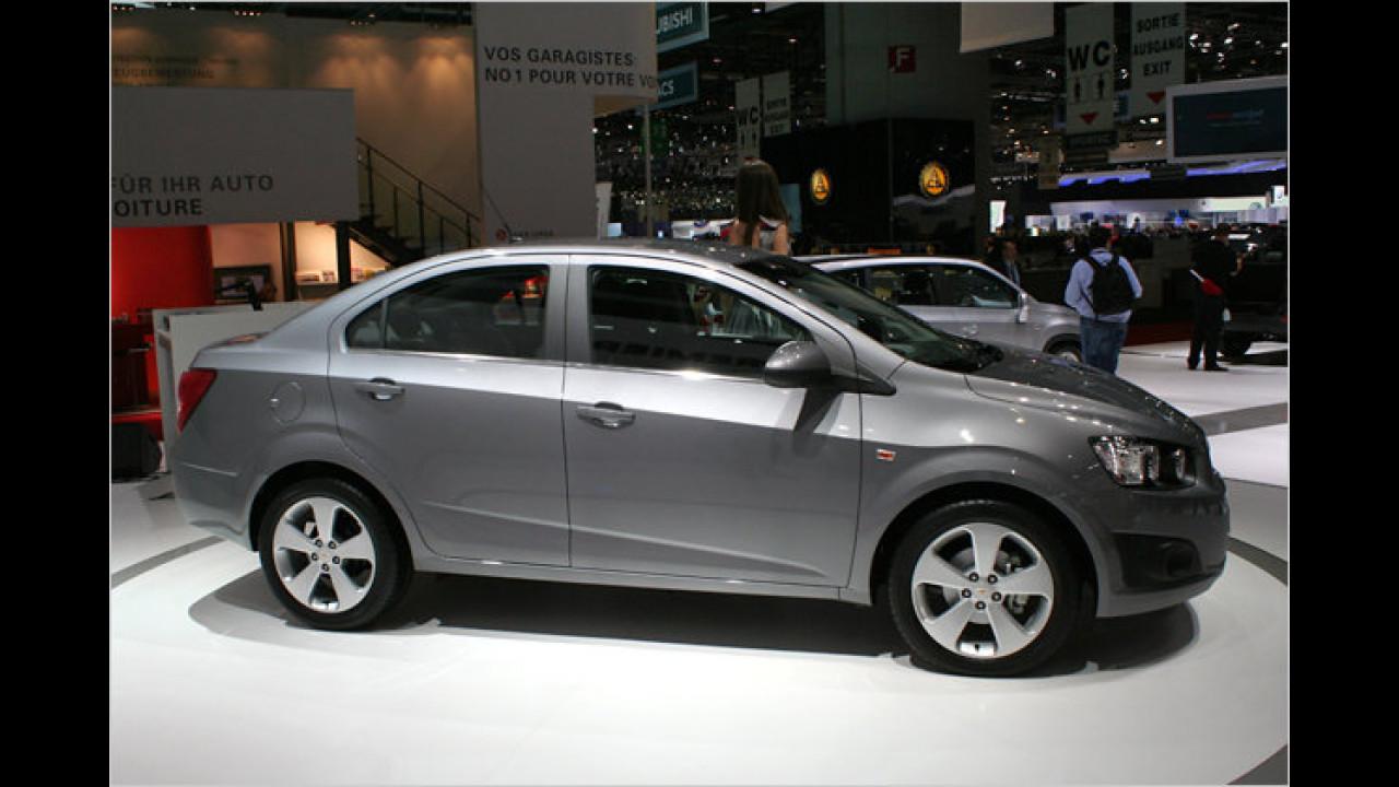 Chevrolet Aveo Stufenheck