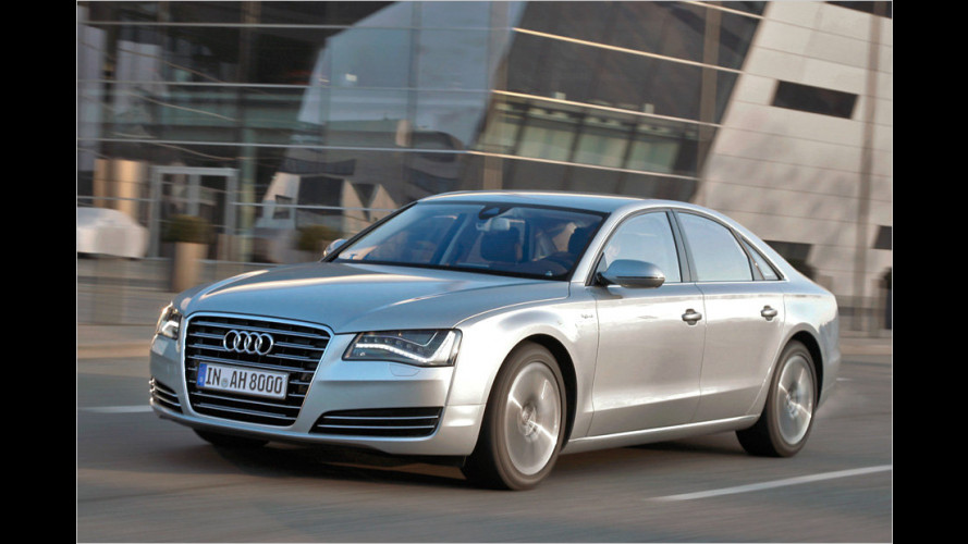 Audi A8 Hybrid (2012) im Test: Auto ohne Fahrer