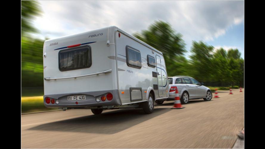 Nicht vernachlässigen: Wohnwagen-Reifen