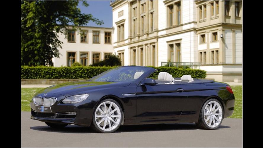 Hartge lässt das BMW 6er Cabrio stärker trompeten