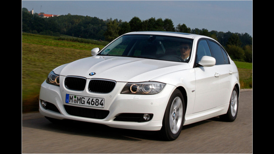 320d EfficientDynamics Edition: Pendeln gegen Vibrationen