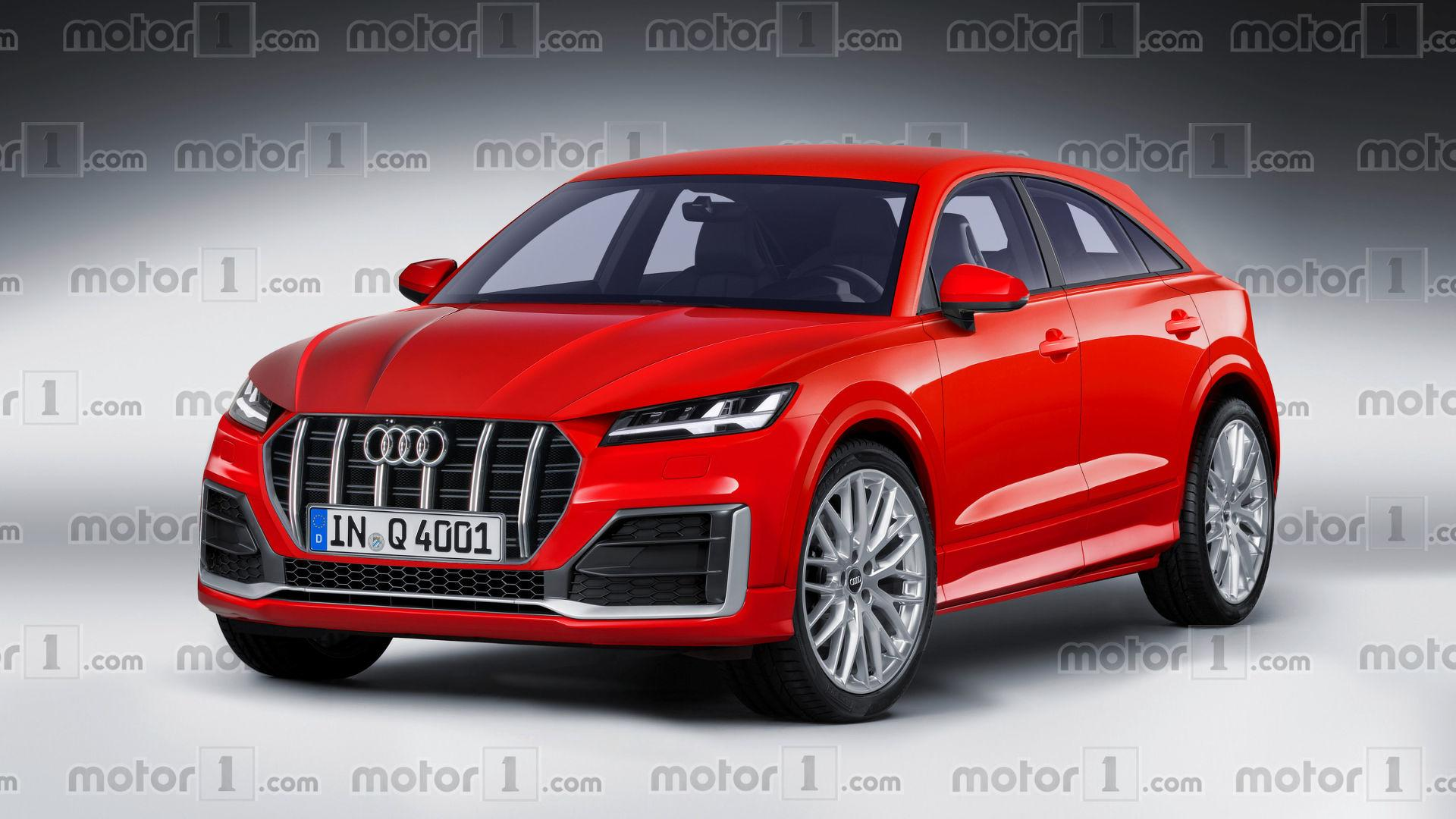Audi Q Render Previews The BMW X Rival - Audi q4