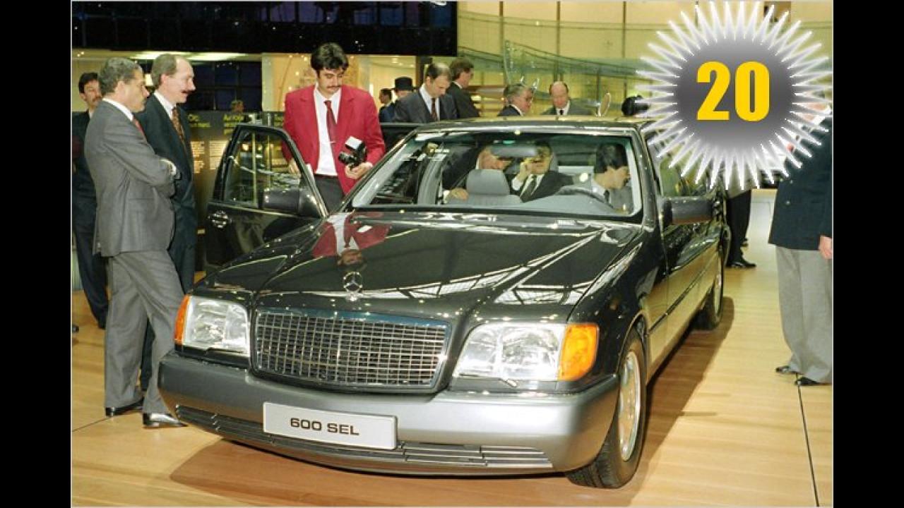 20 Jahre Mercedes W 140